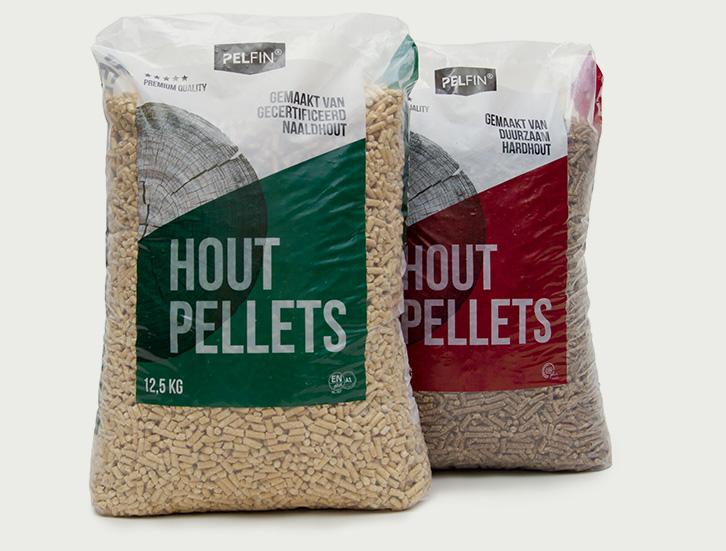 Hout pellets